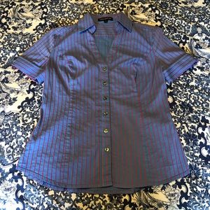Express Design Studio size S short sleeve blouse